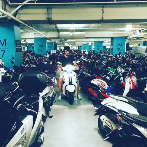 Bangkok Scooter Parking