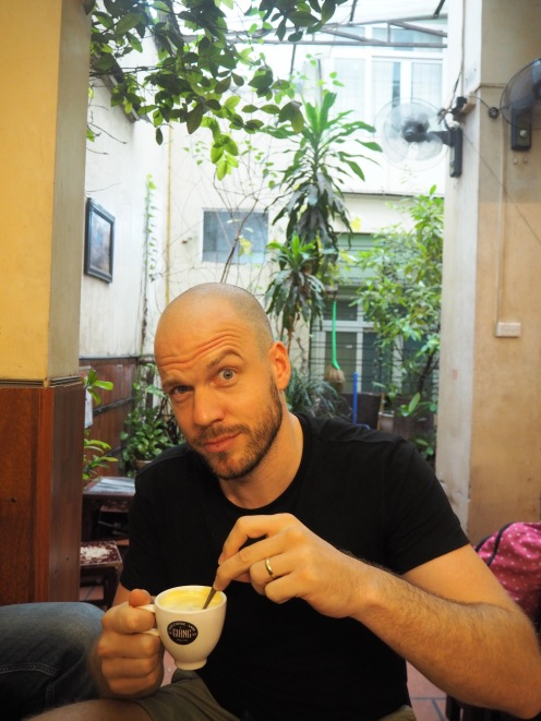 Cafe Giang, serving egg coffee since 1946