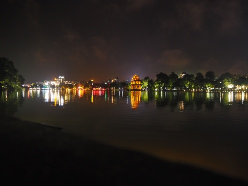 Evening at Hoan Kiem Lake