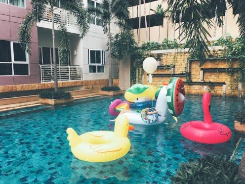 Inflatable Pool Party Bangkok 1