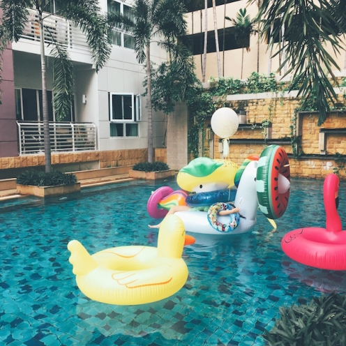 Inflatable Pool Party Bangkok 1