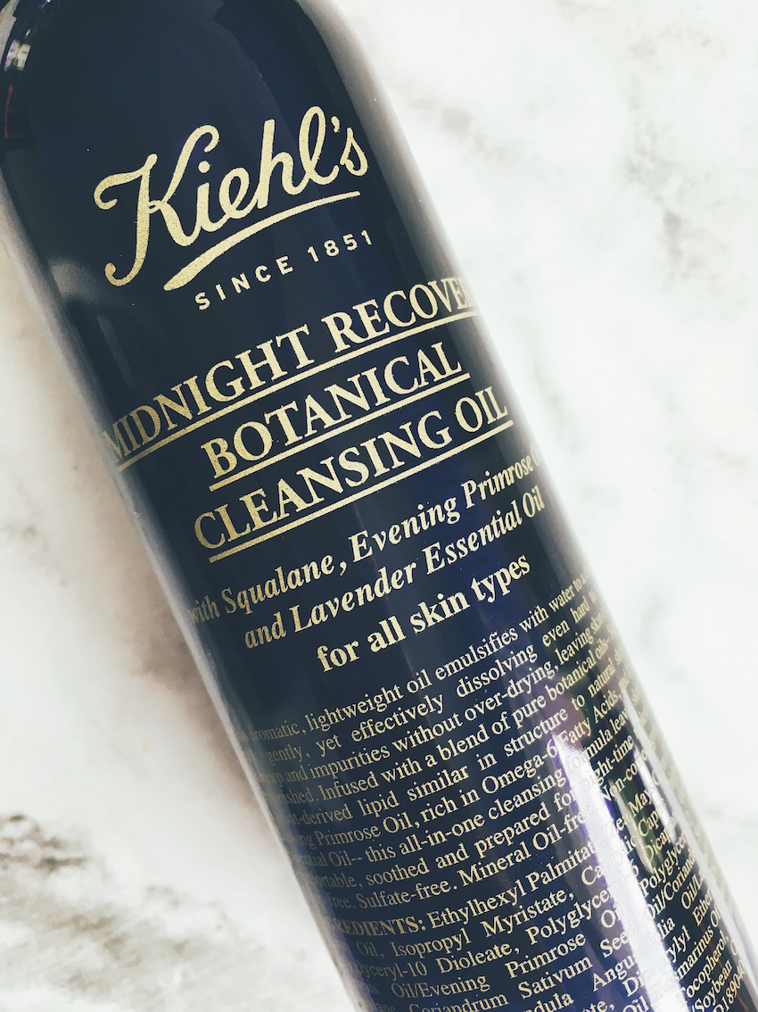 Kiehl's Midnight Recovery Botanical Cleansing Oil 2