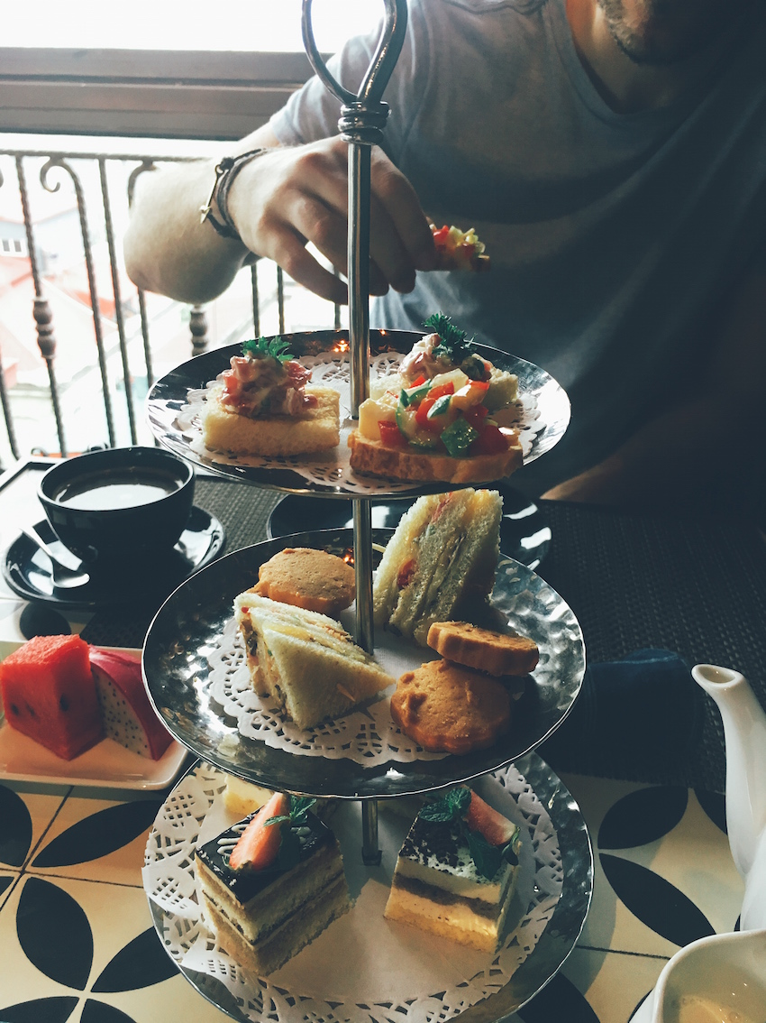 Afternoon tea at La Siesta Trendy