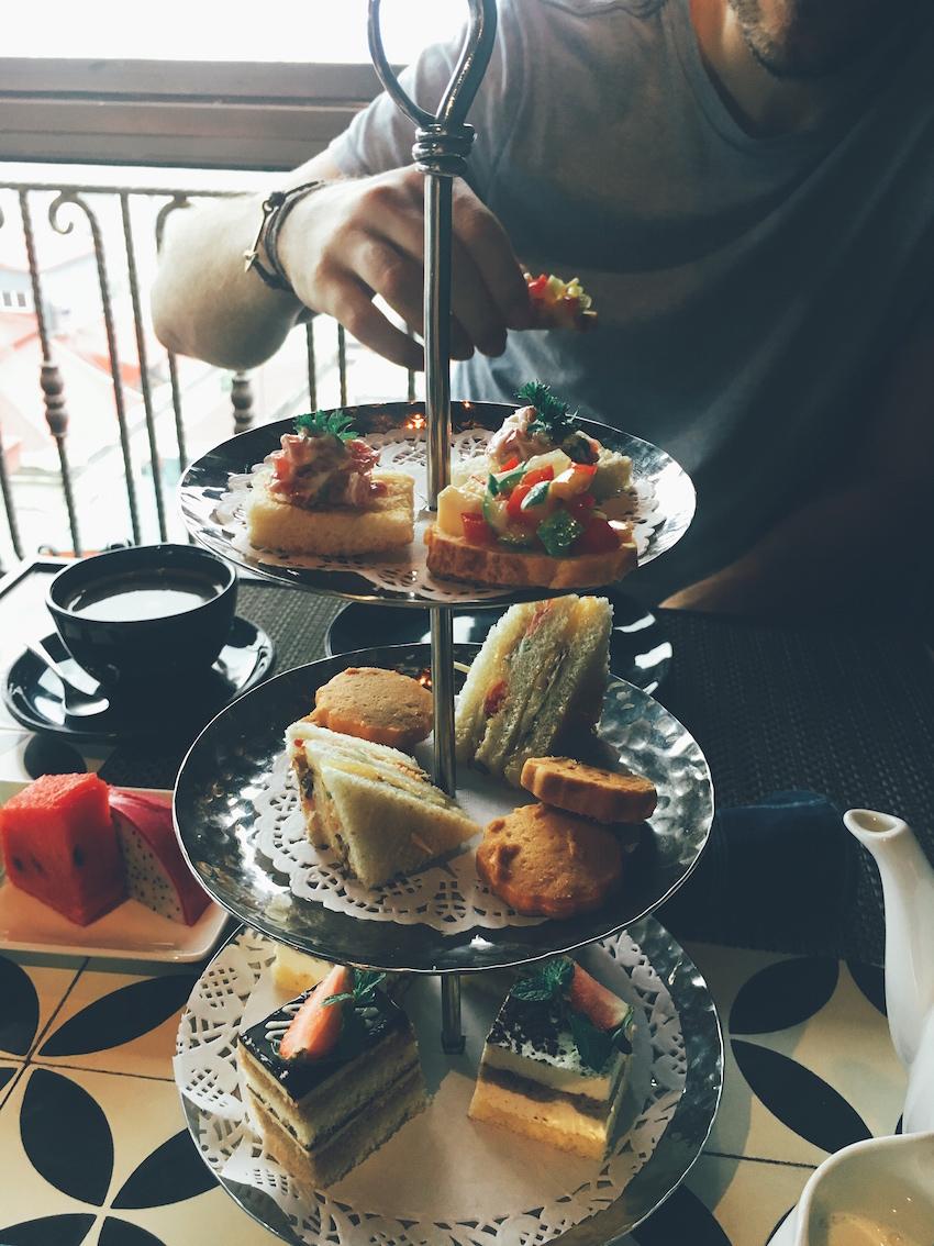 Afternoon tea at La Siesta Trendy