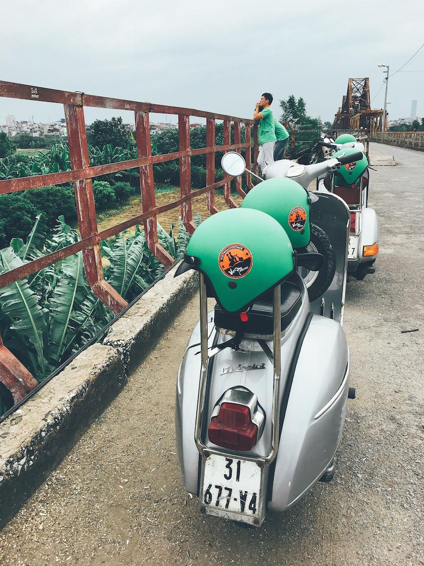 Vintage Vespa Tour, Hanoi