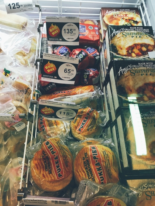 Random Pukka Pies in Tops Supermarket