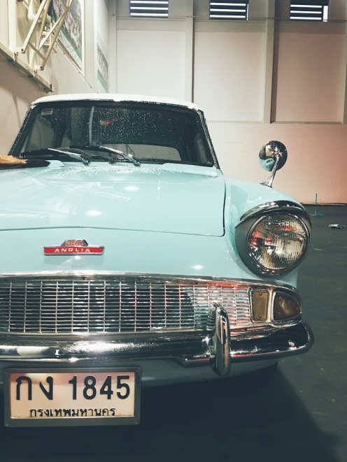The Flying Ford Anglia, project at work