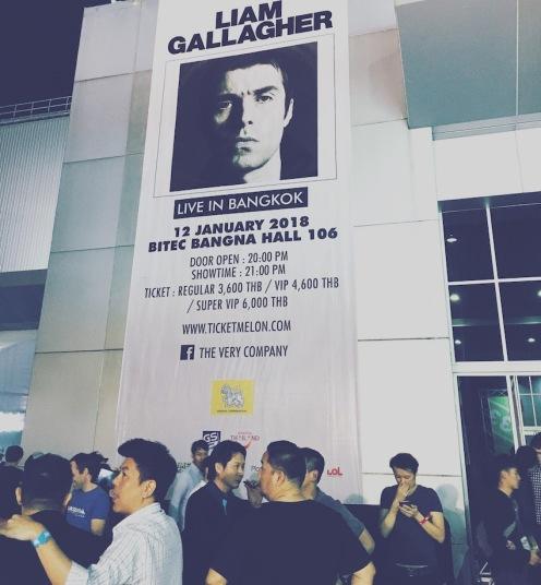 Liam Gallagher in Bangkok